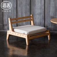 ZEN'S BAMBOO Chair With Cushion Assemble Japanese Tatami chair Outdoor Garden Chair Living Room Home Furniture