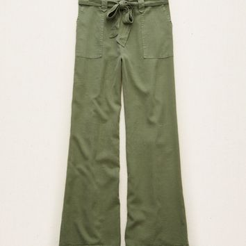AERIE WOVEN FLARE PANT