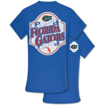 Southern Couture Classic Florida Gators Seersucker T-Shirt