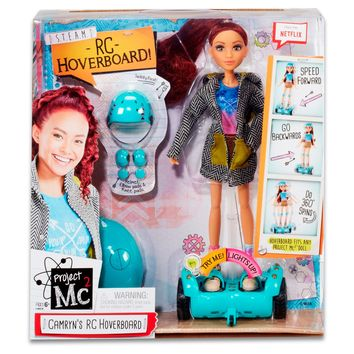 Project Mc2 Camryn's Remote Control Hoverboard with Doll