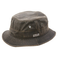 Weathered Cotton Bucket Hat