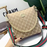 GUCCI 2019 new women's handbag shoulder bag Messenger bag