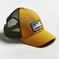 Patagonia Shop Sticker Patch Trucker Hat | Urban Outfitters