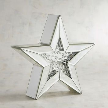 Bejeweled Mirrored Star