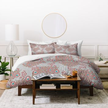 Holli Zollinger Boho Light Floral Duvet Cover