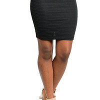Bodycon Bandage Skirt