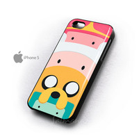 Adventure Time Totem Finn And Jake IPhone 4/4s/4g/5 Case