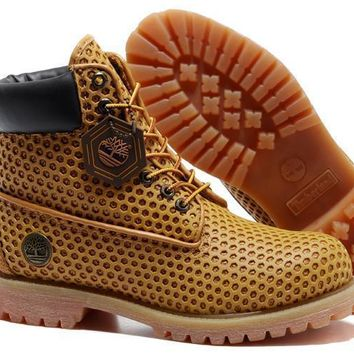 Men's Timberland 54054 Honeycomb Brown High End