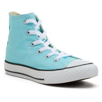 Converse Chuck Taylor Poolside Girls' High-Top Sneakers (Blue)