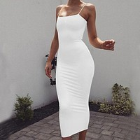 Sexy Long Dress Off Shoulder Strapless Summer Maxi Dress Bodycon