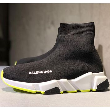 Balenciaga High-end knitted sock shoes