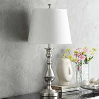 HomeVance Loraine Table Lamp (Grey)