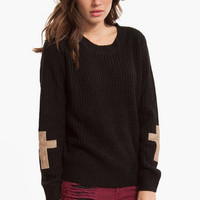 Cross Patch Knit Sweater $42