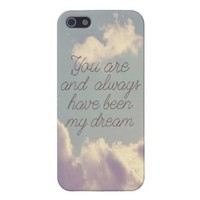 My Dream iPhone 5 Case from Zazzle.com