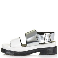 FASHION Chunky Sandals - White