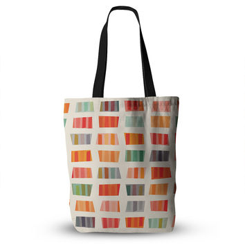 """Daisy Beatrice """"Beach Towels"""" Multicolor Everything Tote Bag"""
