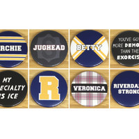 Riverdale inspired Pin Badges & Magnets