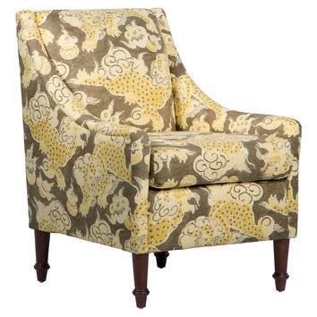 Holmes Chair, Yellow Dragon, Accent & Occasional Chairs
