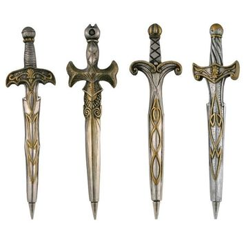 Mighty Sword Pens - Set Of 4