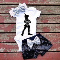 PETER PAN BABY GIRL OUTFIT
