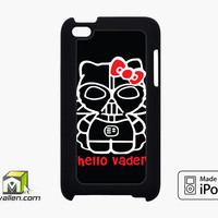 Hello Darth Vader iPod Touch 4th Case Cover by Avallen