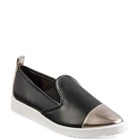 Cler Point Toe Leather Sneakers | Hudson's Bay