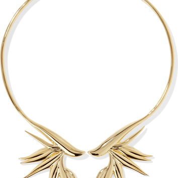 Gold-tone choker | Noir Jewelry | US | THE OUTNET
