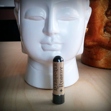Hangover Remedy - AROMATHERAPY INHALER - HANDMADE - All natural Essential Oil Blend  - Homeopathic Hangover personal diffuser