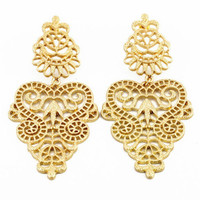 Aura Statement Earrings