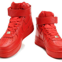 Nike Air Force 1 High Womens QK Child Red - Nike Air Force 1 High Womens on Sale