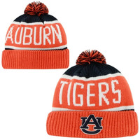 47 Brand Auburn Tigers Calgary Knit Beanie - Burnt Orange/Navy Blue