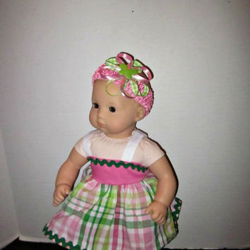 American Girl Doll Clothes, Bitty Baby Doll Clothes, 15 inch doll clothes, 15 inch dolls, Doll Accessories, By Sweetpeas Bows & More