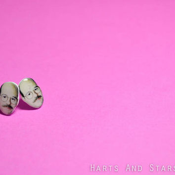 Tobias Funke David Cross Arrested Development Post Earrings