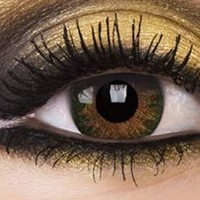 Natural Hazel Colour Contact Lenses, Natural Hazel Colour Lens | EyesBright.com
