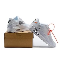 OFF-WHITE x Air Max 90 White Shoe Size 36-46