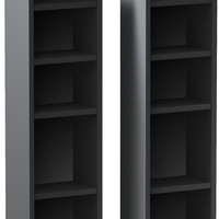 Sereni-T CD / DVD Storage Towers - Set of 2