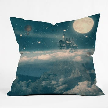 Belle13 The Way Home Outdoor Throw Pillow
