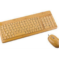 Bamboo Keyboard + Mouse - HackerThings
