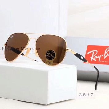 RayBan Ray-Ban Fashion Sunglasses Summer Style Sun Shades Eyeglasses Glasses Sunglasses Coffee I-A-SDYJ