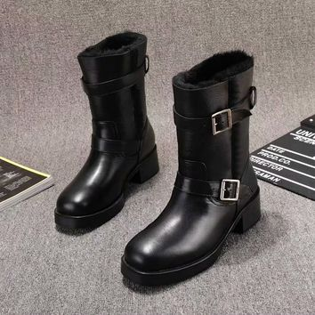Dior Women Leather Black Zipper heels Boots Fashion Casual Shoes Best Quality