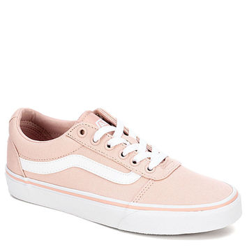 PINK VANS Womens Ward Low