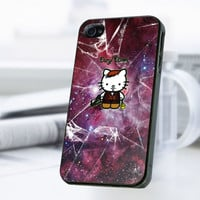 Nebula Hello Kitty Daryl Dixon iPhone 4 Or 4S Case