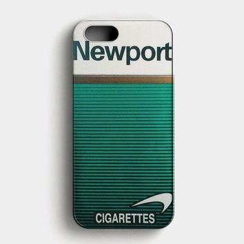 Newport Cigarette Green iPhone SE Case
