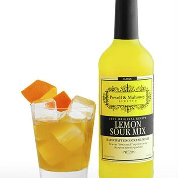 Powell & Mahoney: Lemon Sour With Bitters Vintage Original Cocktail Mixer, 750 Ml