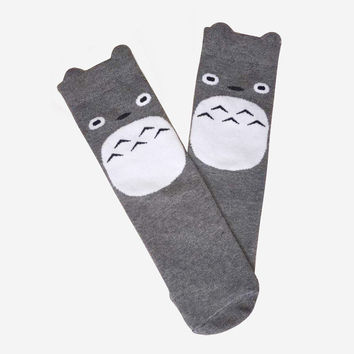Knee High Totoro Socks