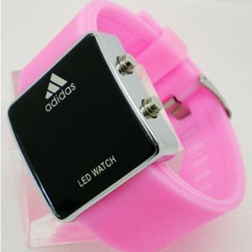 LMFYV2 ADIDAS LED Electronic Watch Stainless Steel Digital Watch
