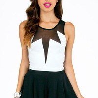 Cutting Kiss Crop Top $26