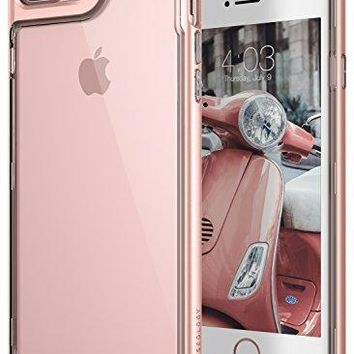 iPhone 7 Plus Case, Caseology [Skyfall Series] Transparent Clear Slim Scratch Resistant Cover Drop Protection for Apple iPhone 7 Plus (2016) - Rose Gold