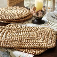 Water Hyacinth Place Mat, Set of 4