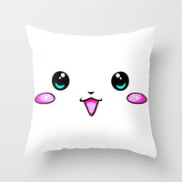 KAWAII Throw Pillow by Ylenia Pizzetti | Society6